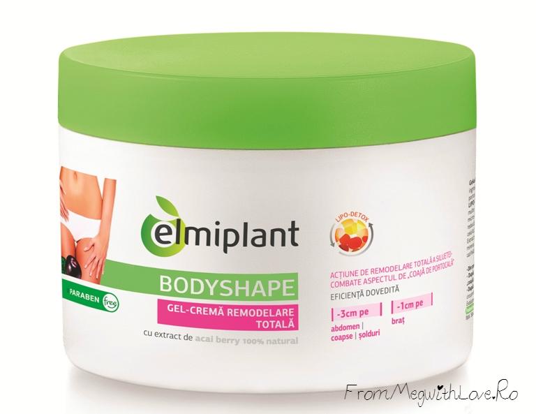 elmiplant: Gel-cremă Remodelare Totală Bodyshape