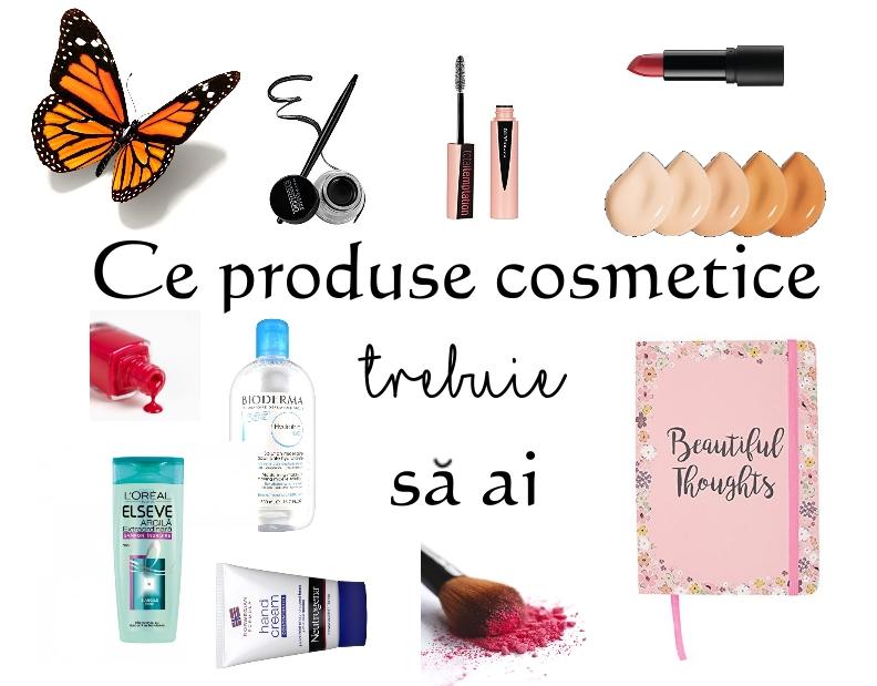 produse cosmetice pe care trebuie sa le ai mic ghid