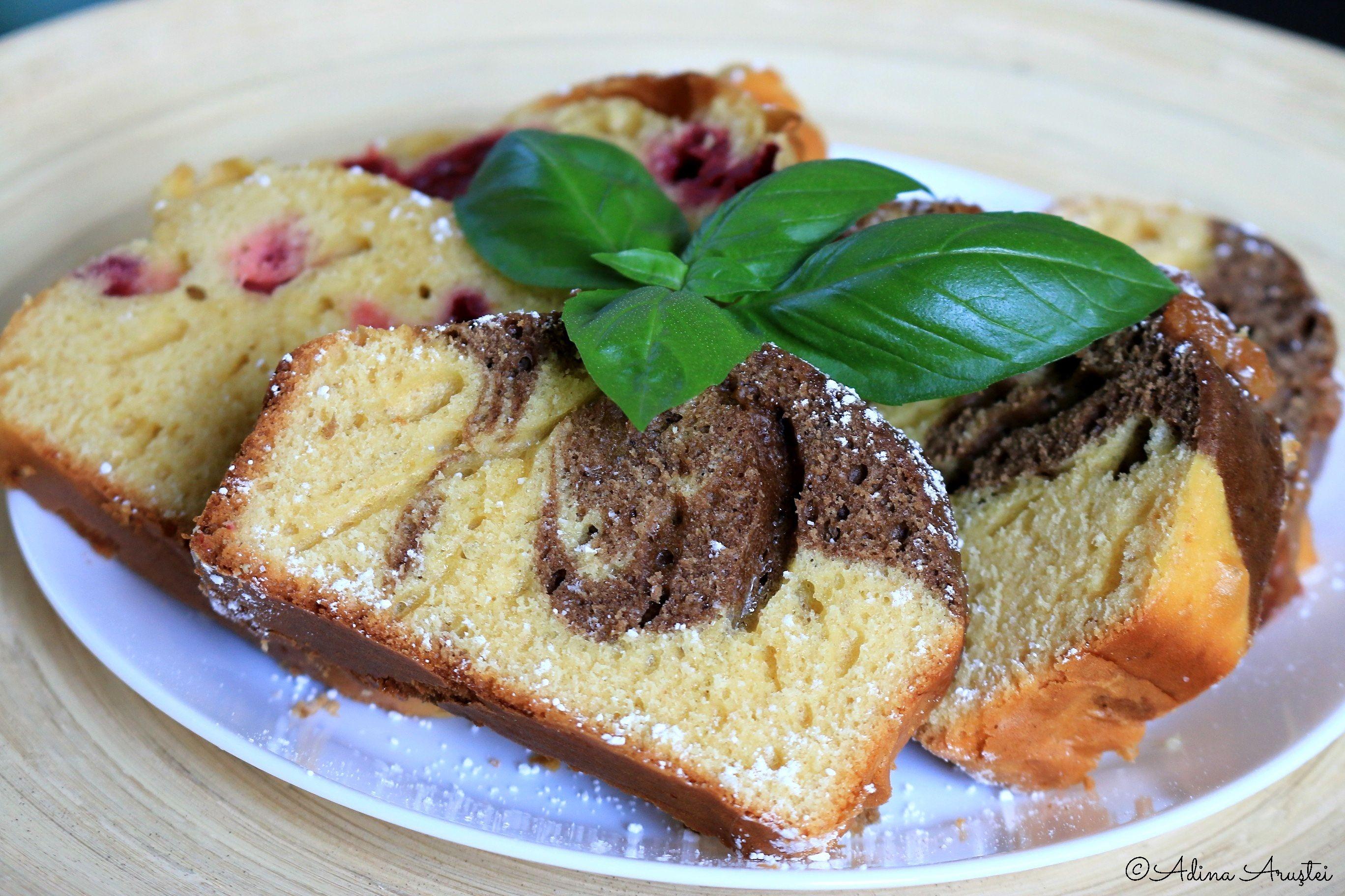 Chec pufos cu fructe sau cu cacao reteta (1)