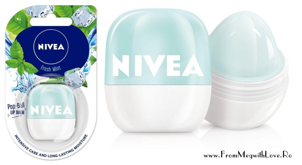 Noutăţi NIVEA: Pop-Ball, balsamurile de buze aromate