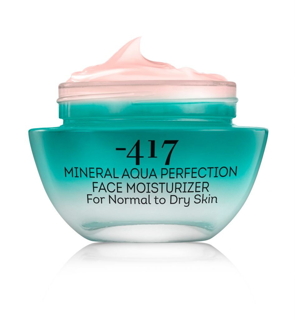 Noutăţi -417: crema hidratantă Mineral Aqua Perfection