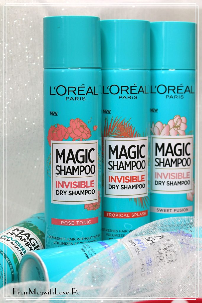 Noutăţi L'Oreal Paris: Şampon uscat Magic shampoo