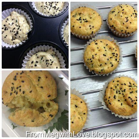 Muffins cu branza sarata [Reteta in imagini]
