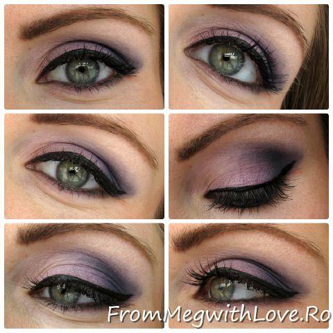 Precious Curve Eyeliner (Flormar) intr-un machiaj potrivit ochilor verzi