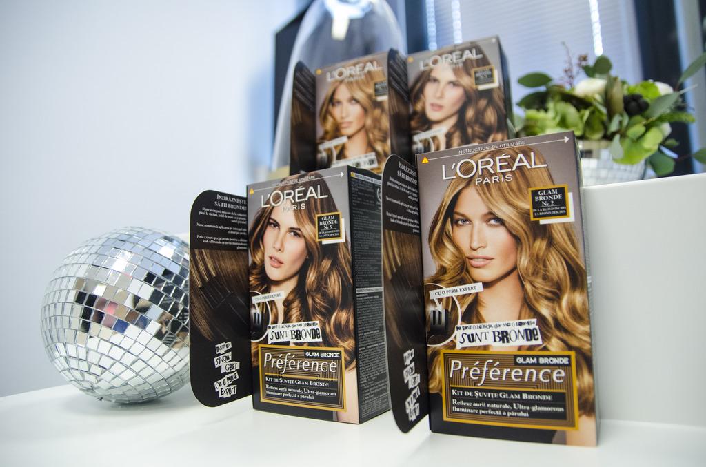 Préferénce Glam Bronde L'Oréal - Nu sunt nici blondă, nici brunetă: sunt bronde!