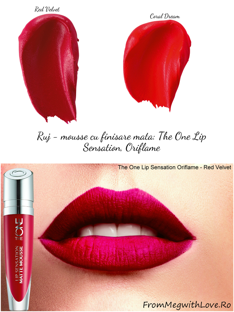 Noutăţi Oriflame: ruj-mousse cu finisare mată Lip Sensation, The One