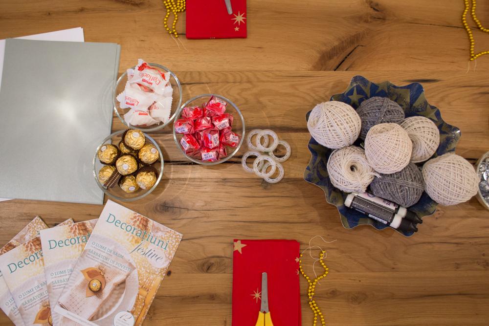 Trei idei de decoraţiuni handmade pentru masa de Crăciun
