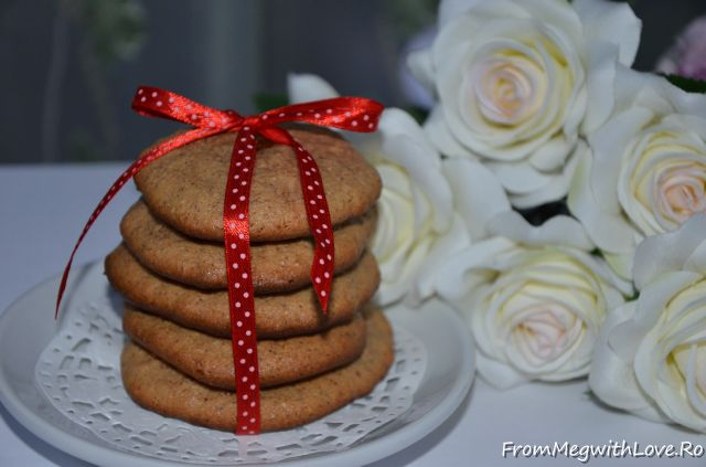 Biscuiţi cu unt de migdale sau cu unt de arahide- Reţetă în imagini