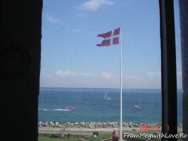 Danemarca, Copenhaga, steag, steagul Danemarcei
