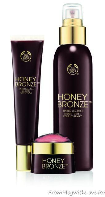 noutati, cosmetice, bronz, the body shop, spray autobronzant, autobronz, autobronzant, miere, produs cu miere, blush, spray