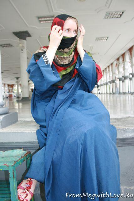 Malaezia, veil, Kuala Lumpur, wearing a veil, turist, turista