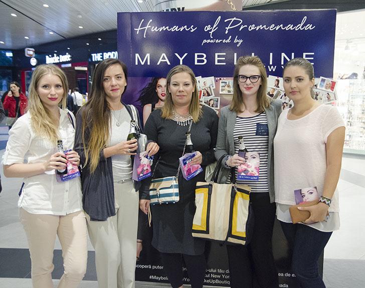 Eveniment deschidere makeup boutique Maybelline - Promenada Mall