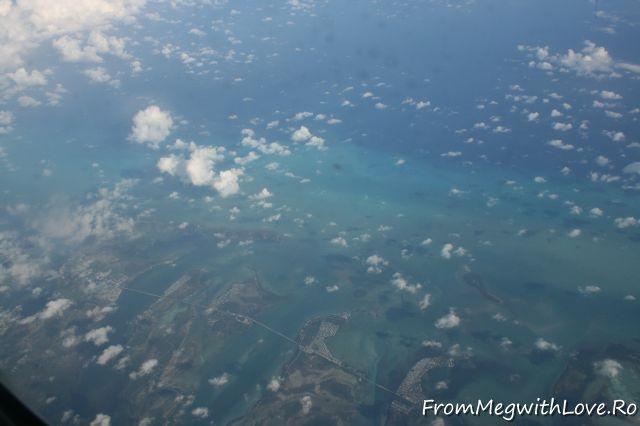 mexic, caraibe, marea caraibelor, apa turcoaz, din avion, vedere din avion