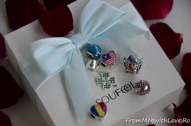 soufeel, bratara, bratara argint, bracelet, soufeel bracelet, talismane, charmuri, pandora, copie pandora