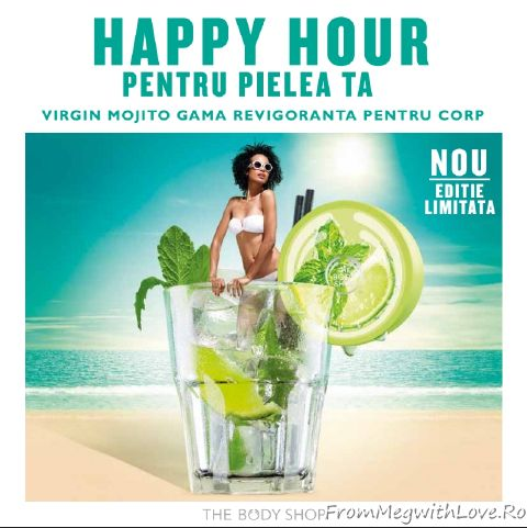Virgin Mojito, the body shop, noutati, ten, corp, sorbet, mojito