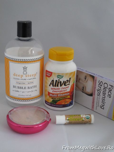 Deel Steep, Alive, vitamine, iherb.com