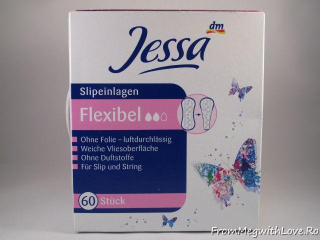 Jessa, absorbante zilnice, dm, pantyliners