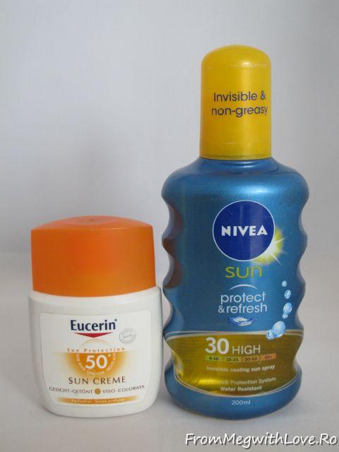 Eucerin, Nivea, SPF, lotiune plaja, spray, plaja