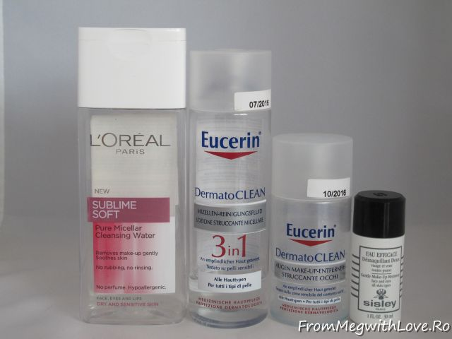 L'Oreal, demachiant, Eucerin, cosmetice