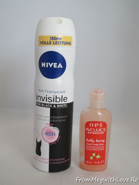 Nivea, antiperspirant, OPI, Avo Juice, Invisible, Topline