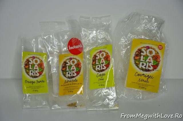Produse culinare consumate - Solaris