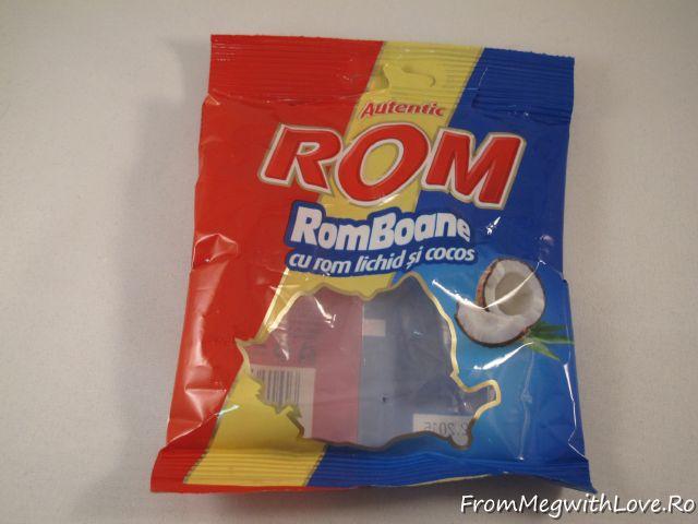 Produse culinare consumate - bomboane Rom, RomBoane