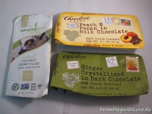 Produse culinare consumate - Ciocolată