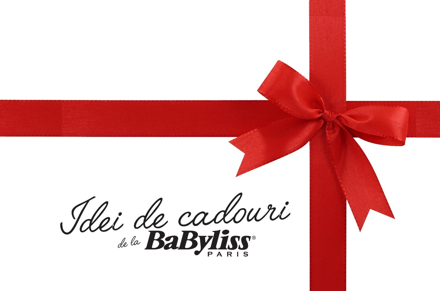 Idei de cadouri BaByliss Paris sigla