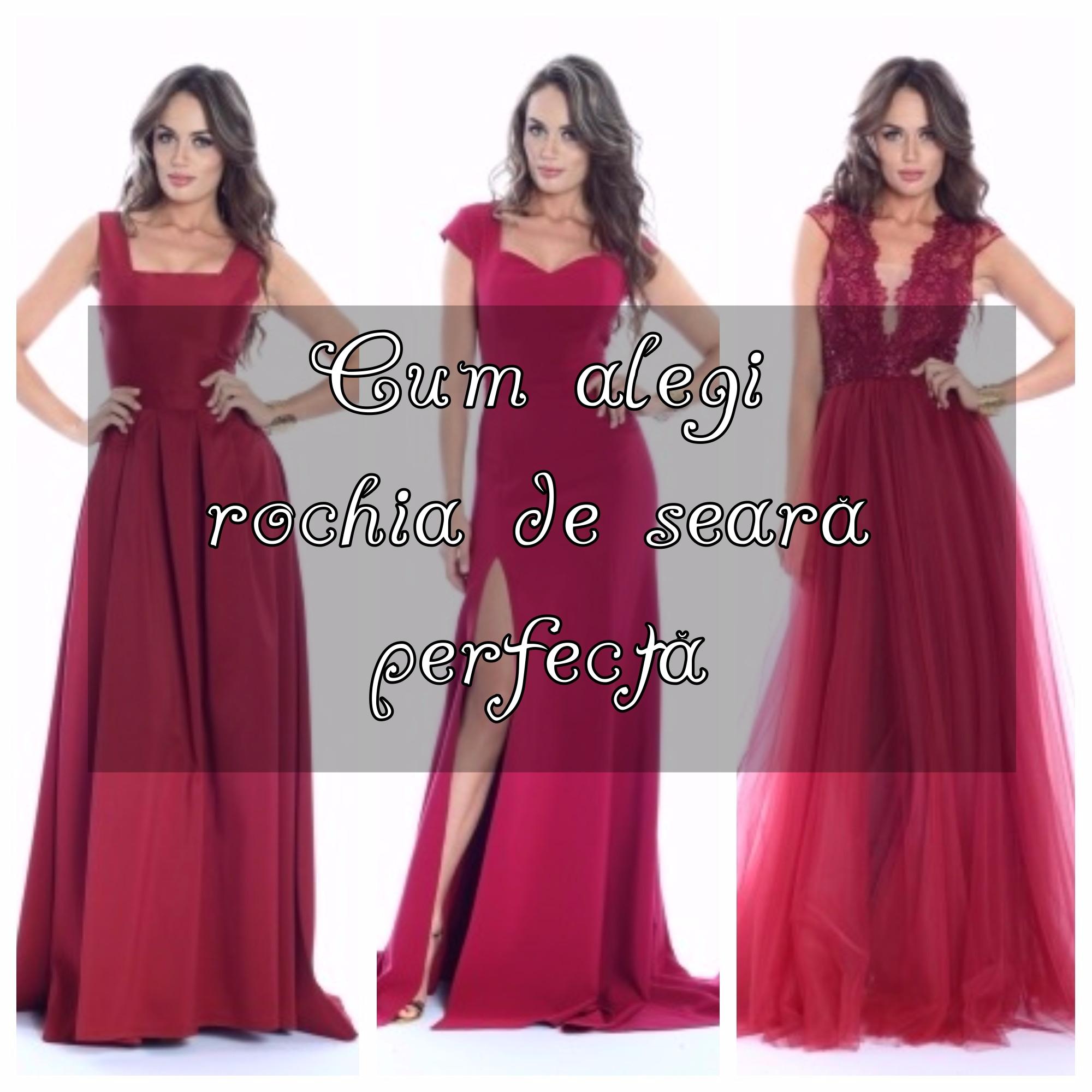cum alegi rochia de seara perfecta