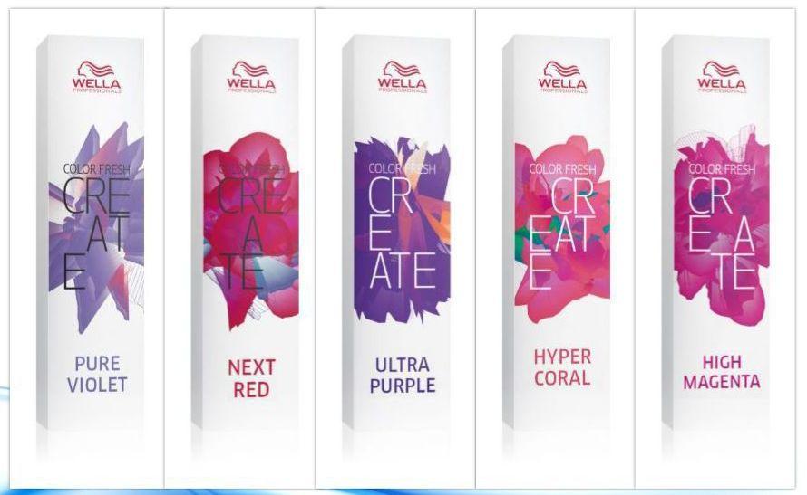 Vopsea de păr Wella Professionals Color Fresh Create