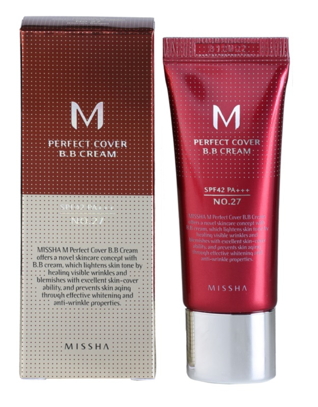BB cream M Perfect Cover - Missha