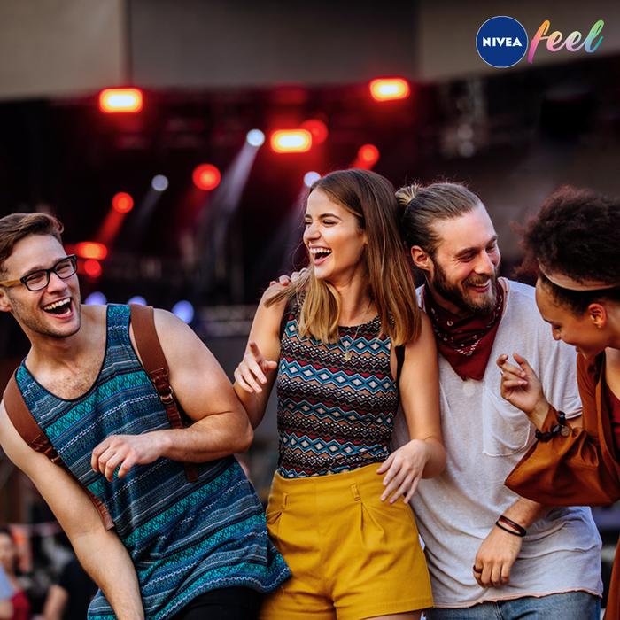 Simte emoţia festivalului cu NIVEA
