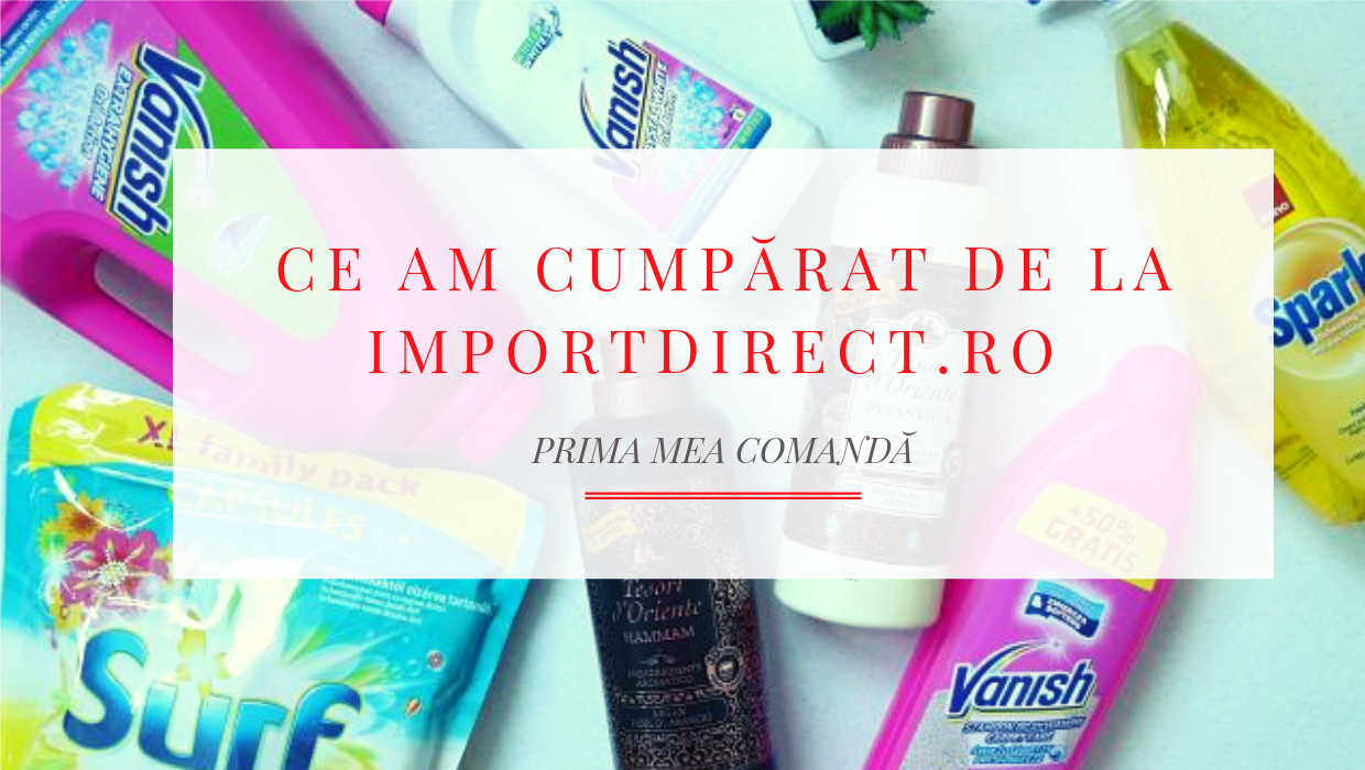 comanda de la import direct canva