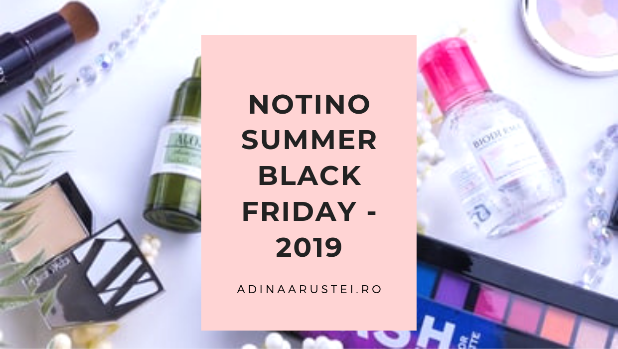 notino summer black friday 2019