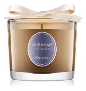 Lumânările parfumate: una dintre bucuriile toamnei mele: Lumânare Millefiori Via Brera Mineral Sea