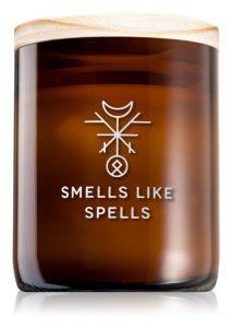 Lumânările parfumate: una dintre bucuriile toamnei mele: Lumânare parfumată cu fitil din lemn Smells Like Spells Norse Magic Frigga
