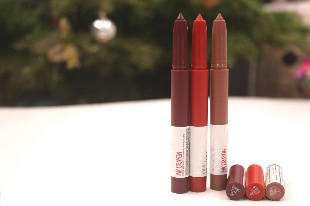 Beauty news: Rujurile creion Maybelline SuperStay Ink Crayon