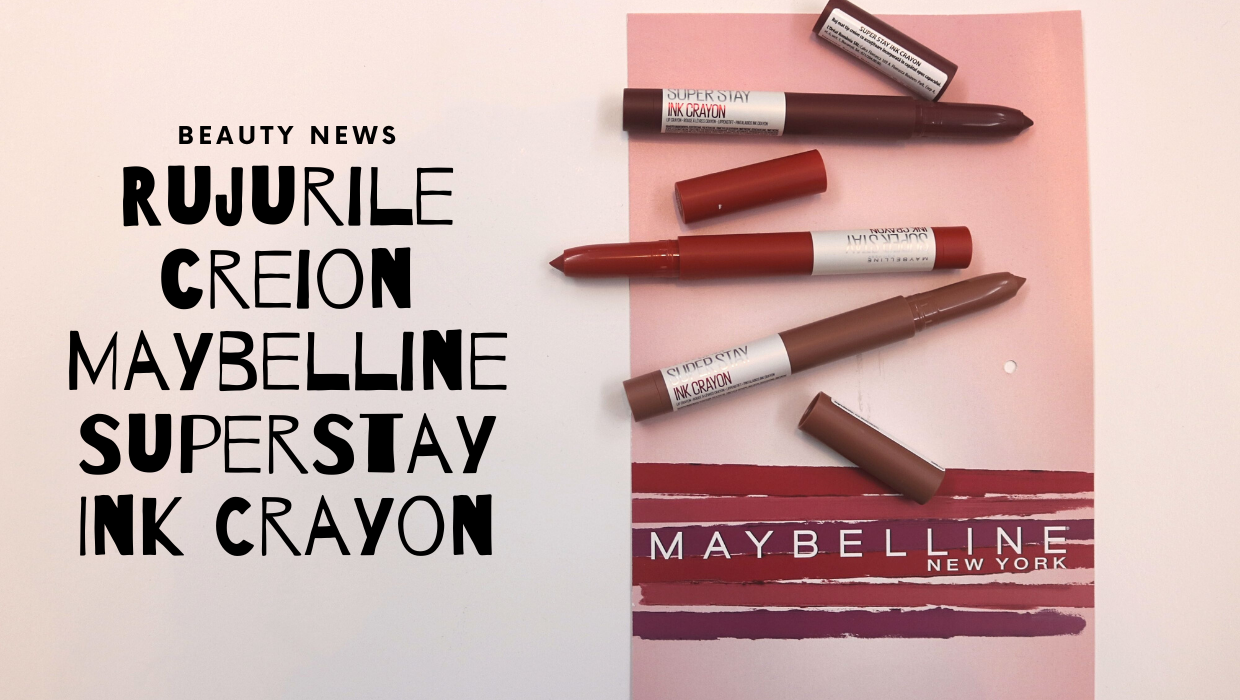 Rujurile creion Maybelline SuperStay Ink Crayon